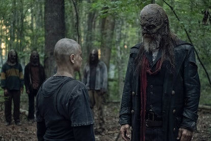 Samantha Morton as Alpha and Ryan Hurst as Beta in The Walking Dead
