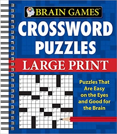 Brain Games Crossword Puzzles - Large Print