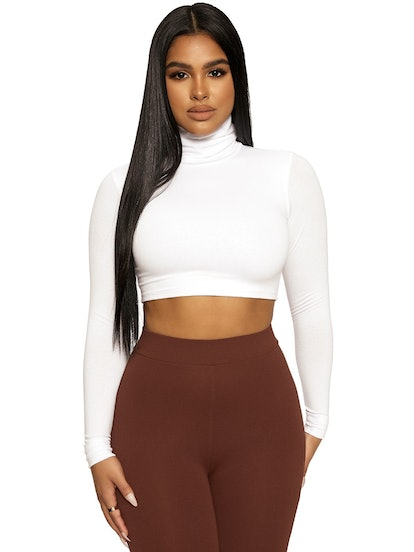 The NW Turtleneck Crop