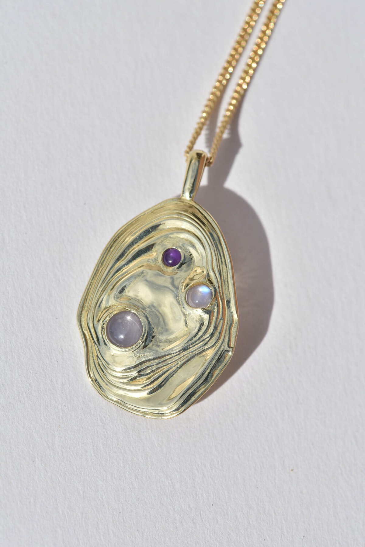 Brass Lava Pendant