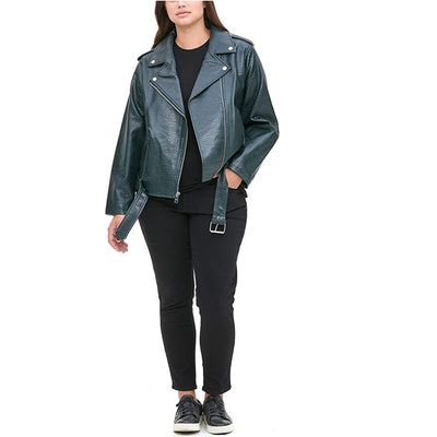 Levi's Asymmetrical Belted Motorcycle Jacket