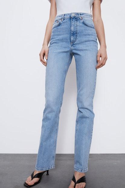 Hi Rise Bootcut Jeans