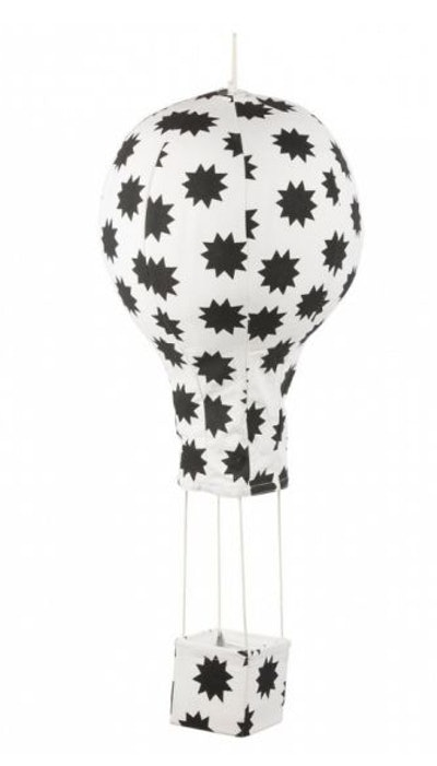Pow! Stars Black Hot Air Balloon Mobile