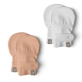 Stay-On Baby Mittens — Two Pack