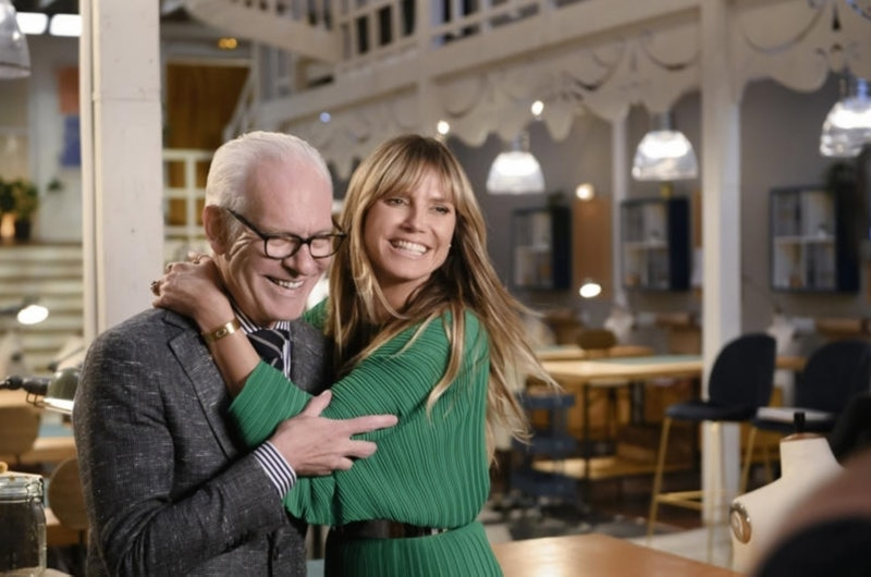 Tim Gunn and Heidi Klum on Amazon's 'Making the Cut.'