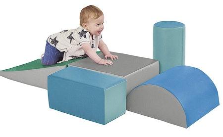 ECR4Kids SoftZone Climb and Crawl Activity Play Set (5 Pieces)