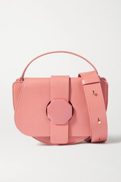 Ressa leather shoulder bag