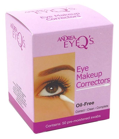 Andrea Eye Q's Eye Make-Up Correctors Swabs (2-Pack)