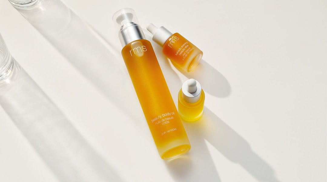 RMS Beauty's new Body Oil is the below-the-neck version of the brand's cult-favorite face oil