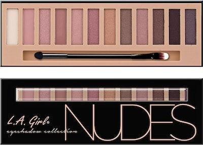 LA Girl Beauty Brick Eyeshadow, Nudes