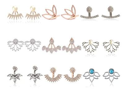 ZYX Stud Earring Set (9-Pairs)