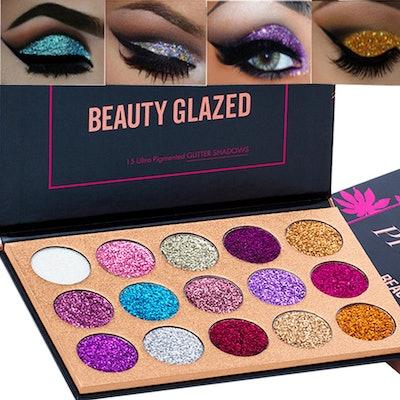 Beauty Glazed Glitter Eyeshadow Palette