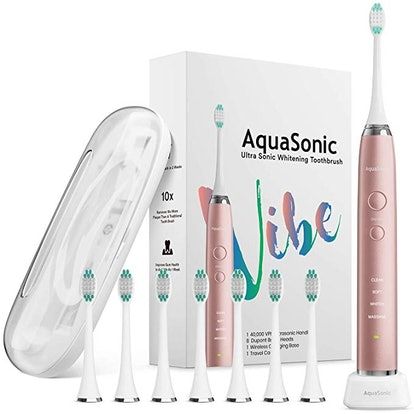 AquaSonic Ultra Whitening Electric Toothbrush