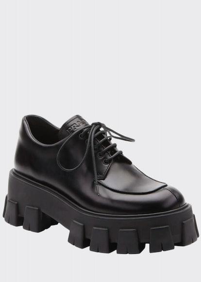 Spazzolato Lug-Sole Loafers
