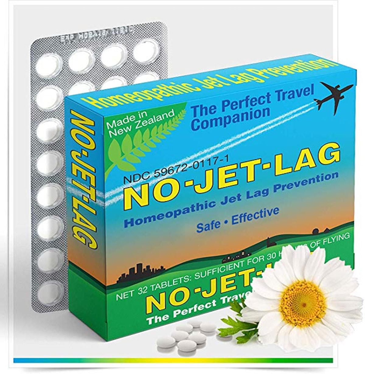 No Jet Lag Homeopathic Remedy + Fatigue Reducer
