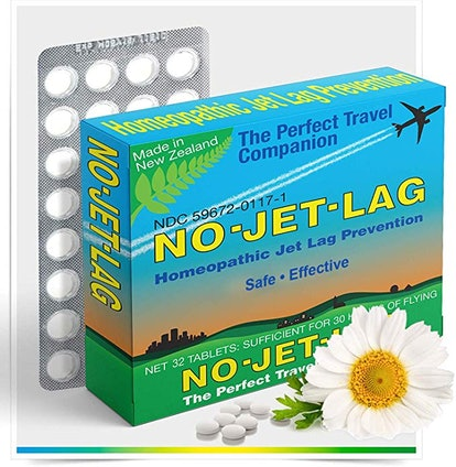 No Jet Lag Homeopathic Remedy + Fatigue Reducer