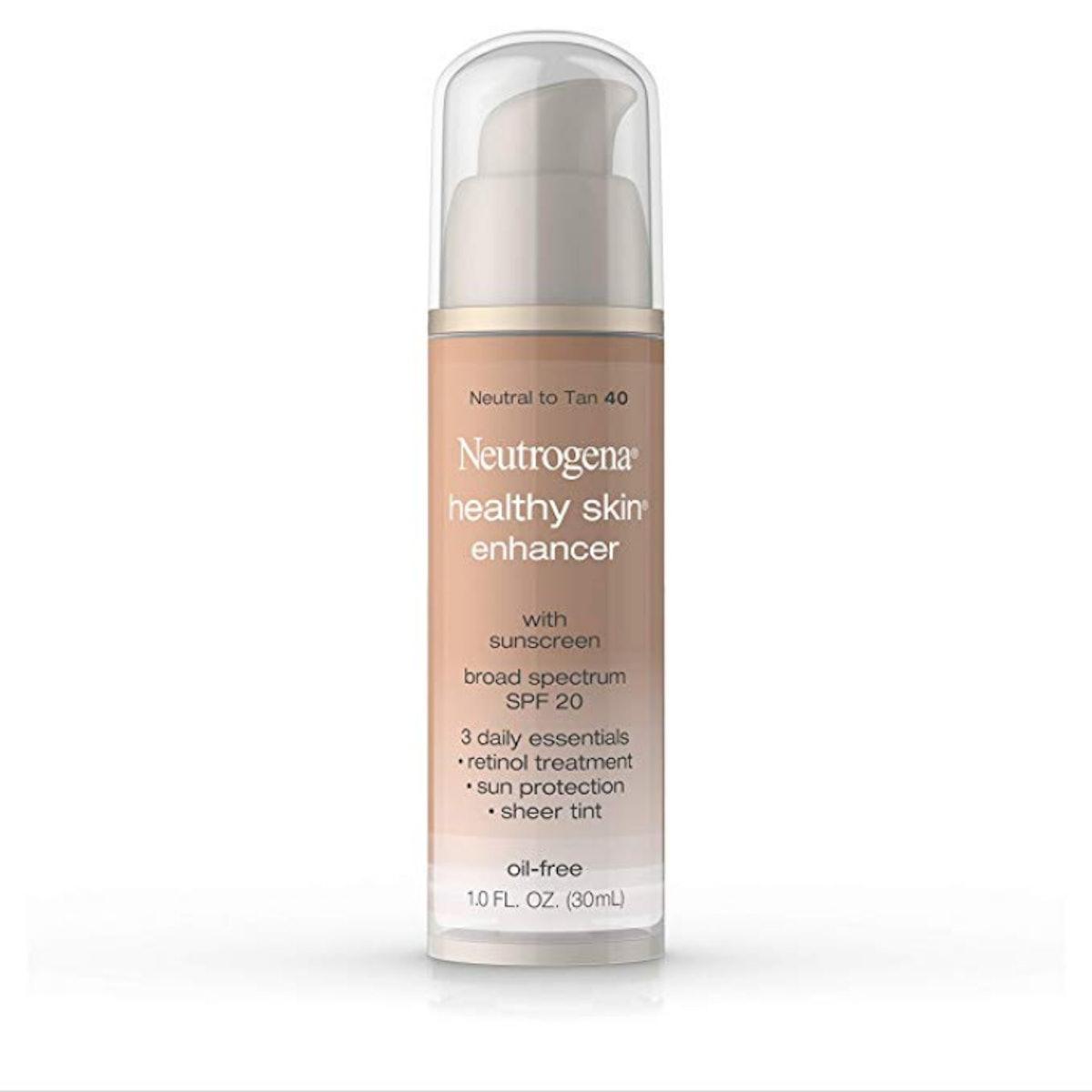 Neutrogena Healthy Skin Enhancer Sheer Face Tint With Retinol