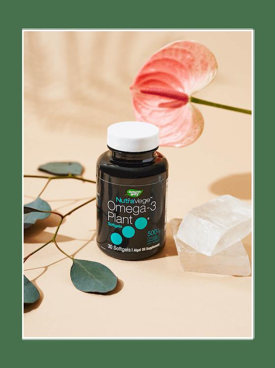 Nature's Way® NutraVege Omega-3 Plant Based Supplement