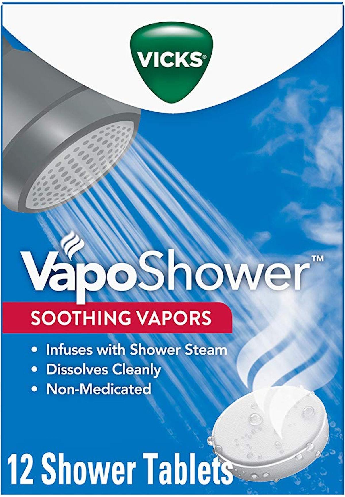 Vicks VapoShower Shower Bomb Tablets (12-Pack)