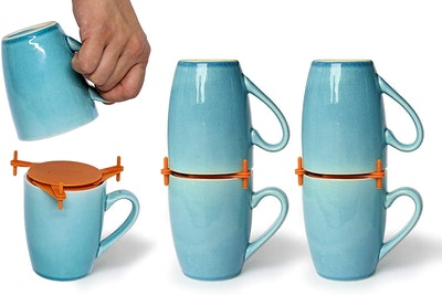 ELYPRO Mug Organizers (6-Pack)