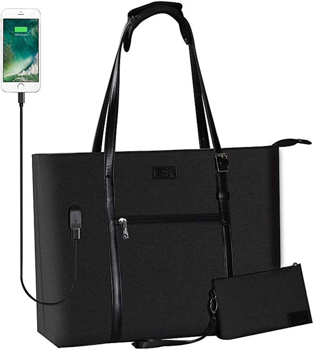 Chomeiu USB Laptop Tote Bag