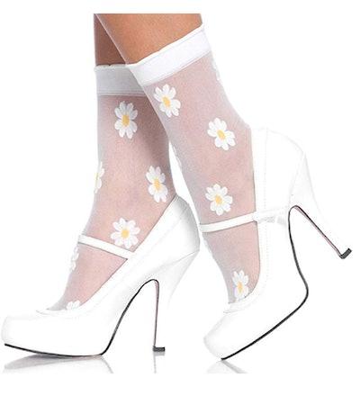 Leg Avenue Women's Daisy Ankle Socks
