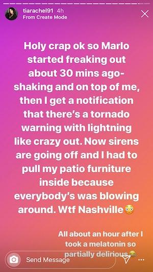 Tia Booth Nashville tornado update