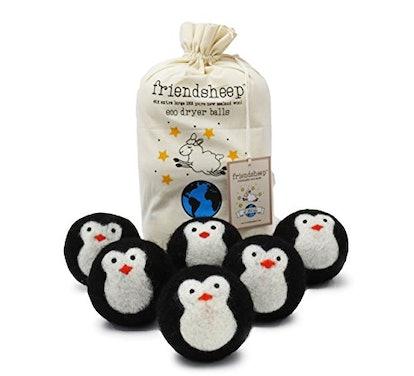 Friendsheep Wool Dryer Balls, 6 Pack