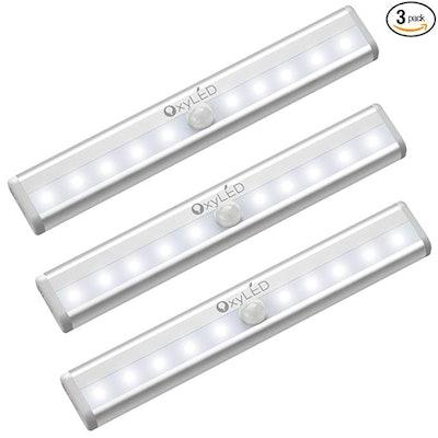 OxyLED Motion Sensor Closet Lights (3-Pack)