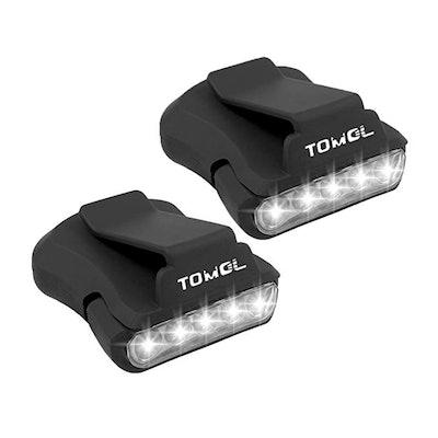 TOMOL Clip Headlamp (2-Pack)