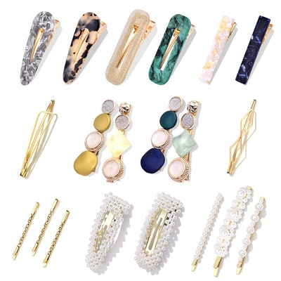Cehomi Pearl Clips (20-Pieces)