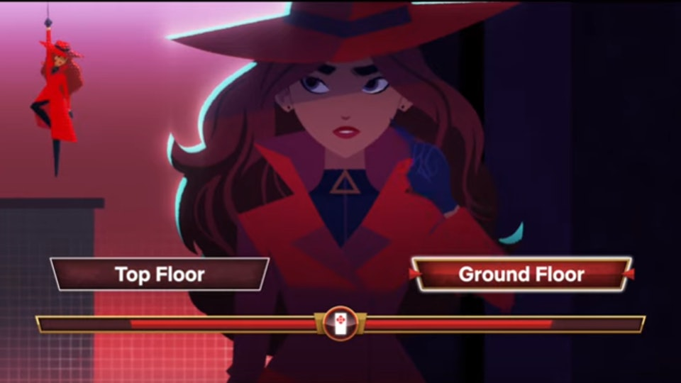 Kids are going to love being part of the action with the new interactive 'Carmen Sandiego' series.