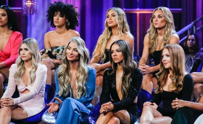 MYKENNA, ALEXA, VICTORIA P., KYLIE, SYDNEY, SARAH, and LEXI in 'The Bachelor' Women Tell All