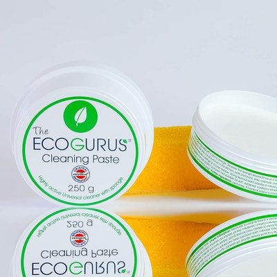 The EcoGurus Natural Cleaning Paste with Sponge