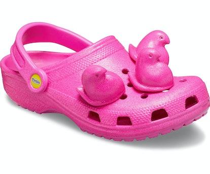 Peeps x Crocs Classic Clog in Electric Pink