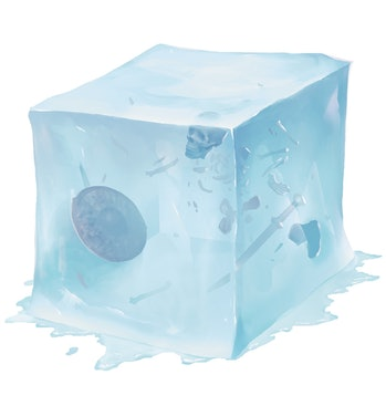 Dungeons and Dragons Gelatinous Cube