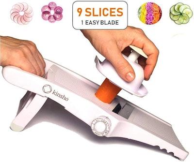 kinsho Adjustable Mandolin Slicer