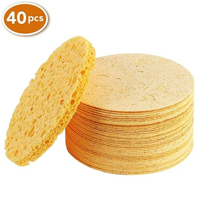 AwesomeWare Compressed Facial Sponge (40-Pack)