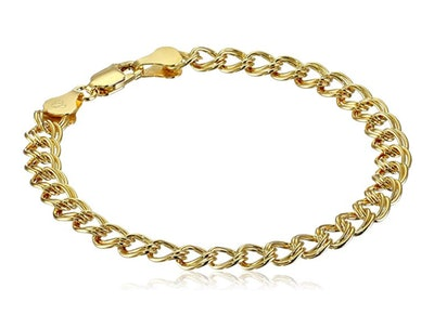 Amazon Essentials Double-Link Chain Bracelet