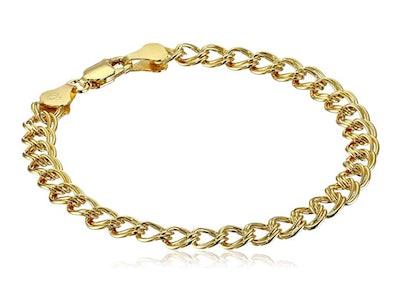 Amazon Essentials Double-Link Chain Bracelet