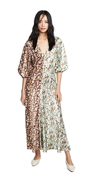 Zoe Puff Sleeve Dress