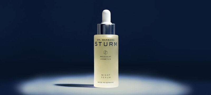 Dr. Barbara Sturm's new Night Serum in bottle.