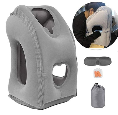 Kimiandy Inflatable Travel Pillow