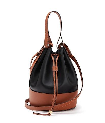 Balloon Bag Black/Tan