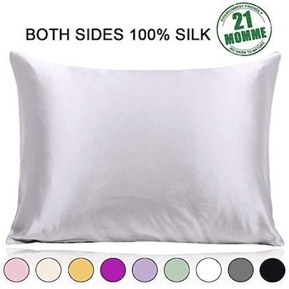 Ravmix 100% Pure Mulberry Silk Pillowcase