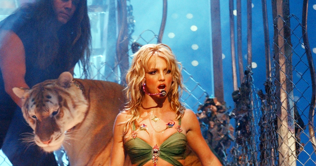 Yes, That Is Doc Antle From Tiger King In Britney Spears