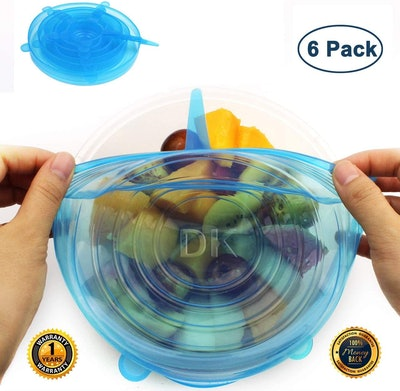 Silicone Stretch Lids (6-Pack)