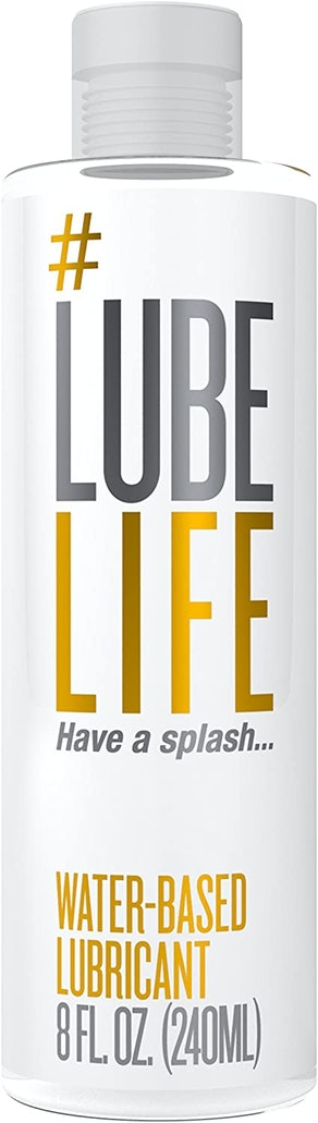 #LubeLife Water-Based Lubricant (Original, 8 Ounces)