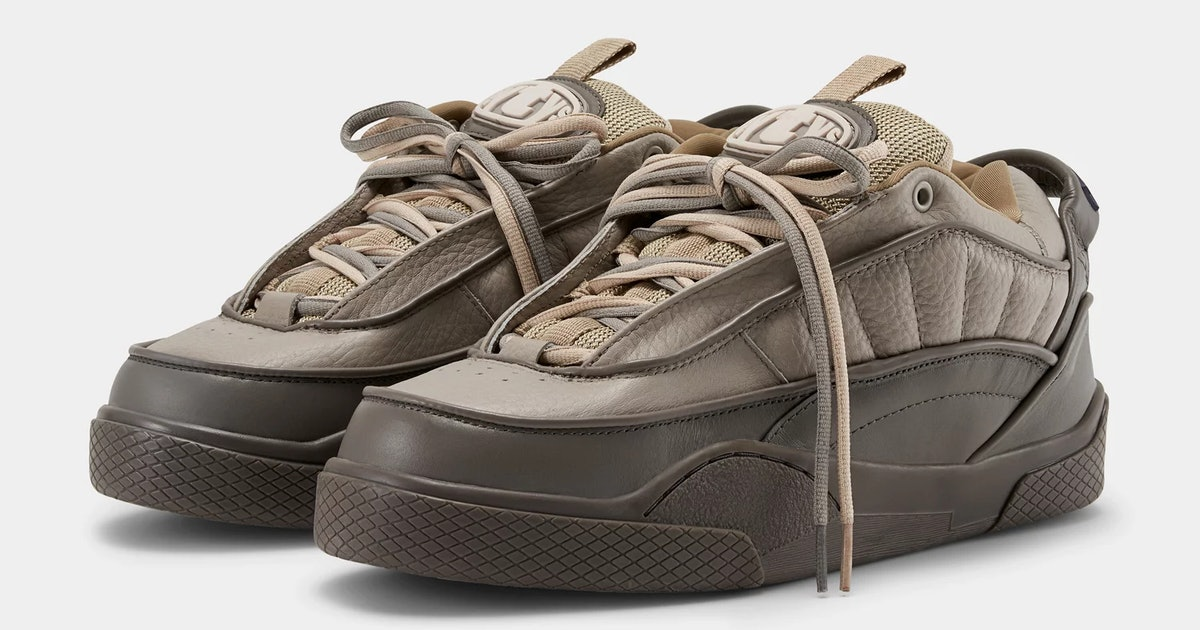 The thicc skate shoe revival has now gone luxury with Eytys