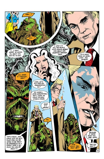 Constantine Swamp Thing